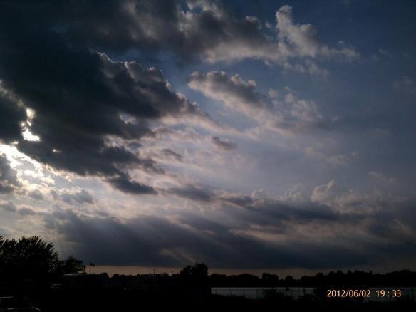 pike lake clouds