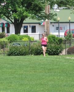 park jogger