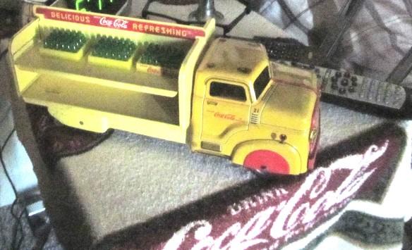 ally cat coca cola truck
