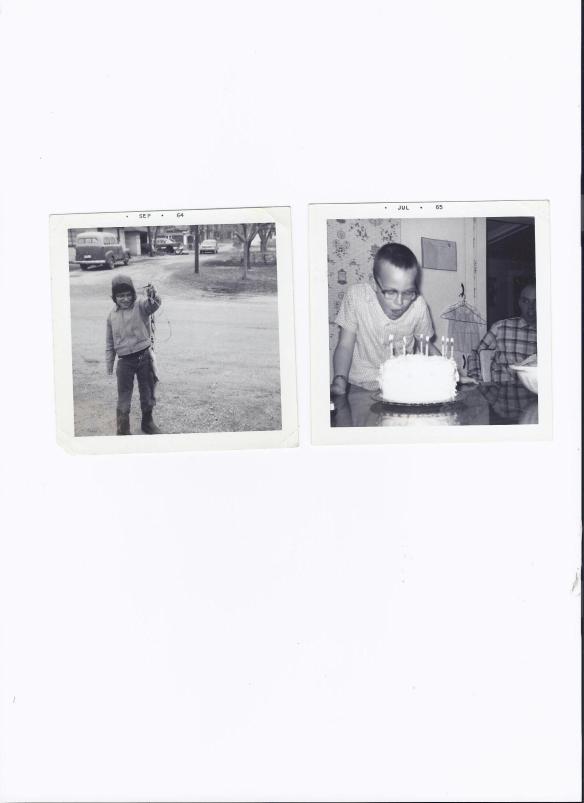 Alvin when he was little