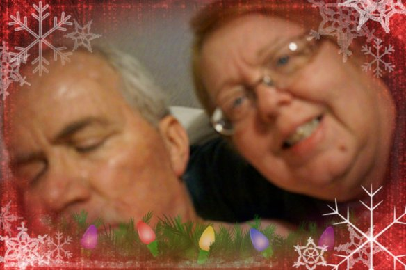 Al and me Christmas 2013