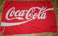 coca cola flag