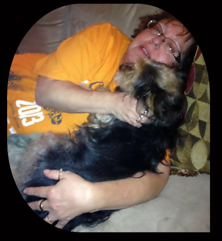 me and dog 1