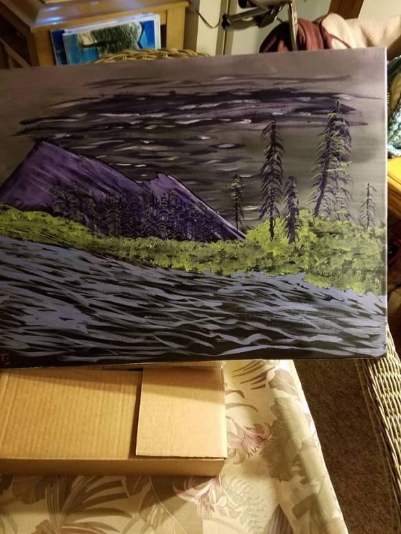 purple-painting
